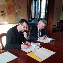 Renouvellement accord cadre ENS Rennes / University College of Cork